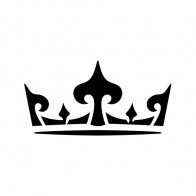 Royal Crown Chess Queen King Kingdom  01224