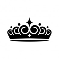 Royal Crown Chess Queen King Kingdom  01227
