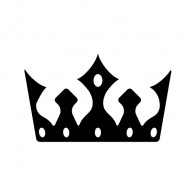 Royal Crown Chess Queen King Kingdom  01245