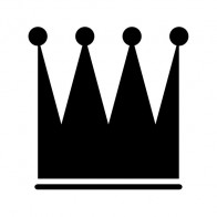 Royal Crown Chess Queen King Kingdom Little Prince 01250