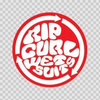 Rip Curl Wet Suits Logo 01296