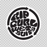 Rip Curl Wet Suits Logo 01297