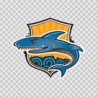 Shark Emblem 01421