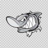 Shark Tearing 01480