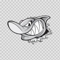 Shark Tearing 01482