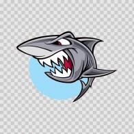 Vinyl Shark Angry Bite  01723