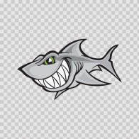 Cartoon Shark Smile 01788