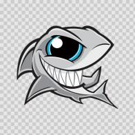 Angry Shark Smile 01794