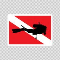 Flag Diver Scuba 01845