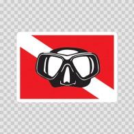 Flag Diver Scuba 01846