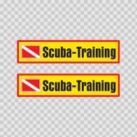 Scuba Training Sign 01859