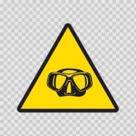 Caution Diving 01869