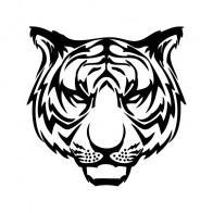 Wild Cat Tiger Mascot  01902