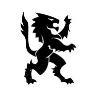 Heraldic Lion 01932