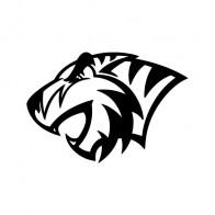 Wild Cat Tiger Maskot  01933