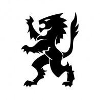 Heraldic Lion 01943