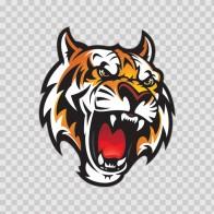 Mascot Tiger Head 01947