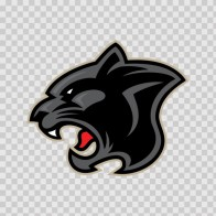 Black Panther Head 01974