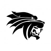 Panther Puma Lion Head 01984