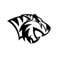 Wild Cat Tiger Maskot  01992