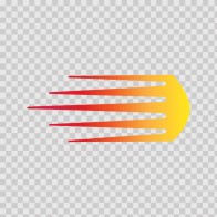 Racing Stripe Red Orange Yellow 02315