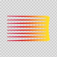Racing Stripe Red Orange Yellow 02316