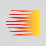Racing Stripe Red Orange Yellow 02318