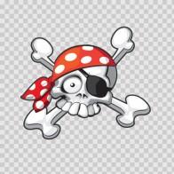 Pirate Skull 02413