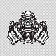Easy Rider Skull 02442