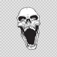Skull Scream 02453