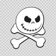 Skull Smile 02463