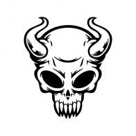 Devil Skull 02516