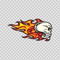 Flames Skull 02583