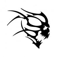 Skull Flames Easy Rider 02588