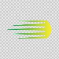 Racing Stripe Yellow Green 02631