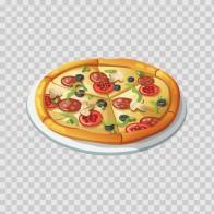 Restaurant Decoration Pizza 03024