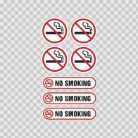 No Smoking Signs 03227