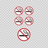 No Smoking Sign 03232