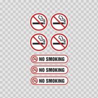 No Smoking Signs 03235
