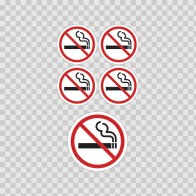 No Smoking Signs 03236