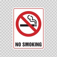 No Smoking Sign 03239