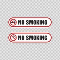 No Smoking Sign 03241