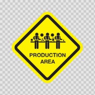 Production Line Area Sign 03260