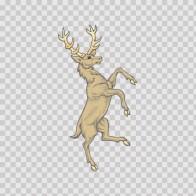 Deer Heraldic 03282