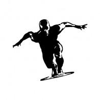 Silver Surfer Surfboard 03308