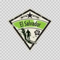 Souvenir From El Salvador Beach Souvenir Memorabilia 03348