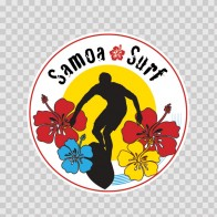 Samoa Surf Souvenir Memorabilia 03355