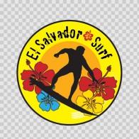 El Salvador Surfing Souvenir Memorabilia 03362