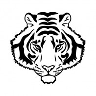 Tiger Head 03493