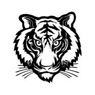 Tiger Head 03586